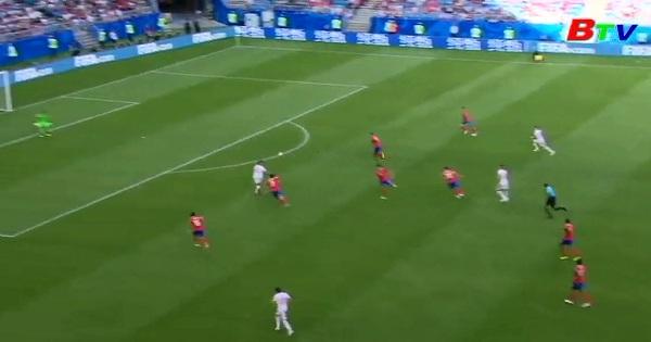 Bảng E - VCK World Cúp 2018: Costa Rica 0-1 Serbia