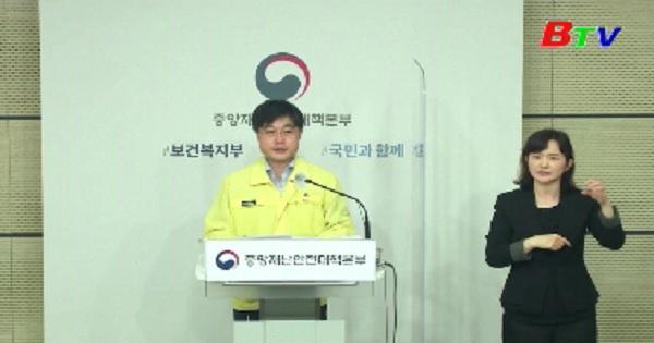 Hàn Quốc có hơn 500 ca nhiễm mới ngày thứ 2 liên tiếp