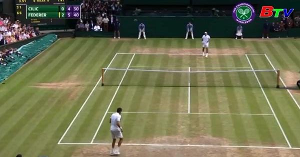 Federer vô địch Giải quần vợt Wimbledon 2017