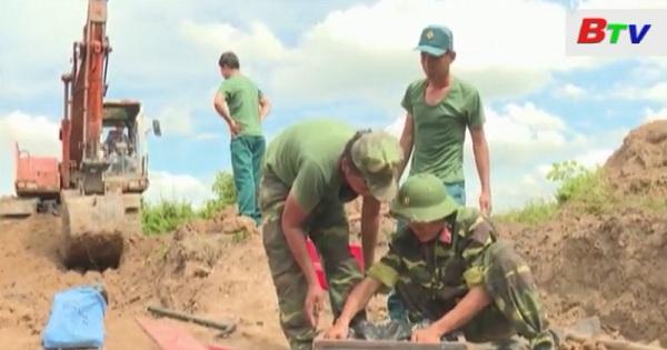 Bộ Chỉ huy quân sự tỉnh Bình Dương phát hiện, quy tập khu mộ liệt sĩ tập thể