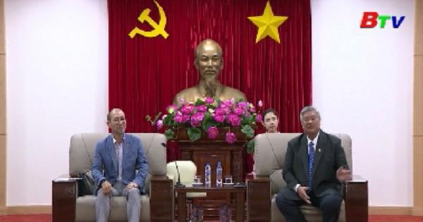 Lãnh đạo UBND tỉnh tiếp hội doanh nghiệp Hàn Quốc tại tỉnh Quảng Đông (Trung Quốc)