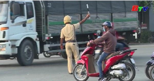 Thành phố Thủ Dầu Một nỗ lực phòng, chống ùn tắc giao thông