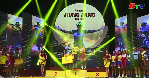 Gala tổng kết Giải xe đạp Quốc tế VTV Cúp Tôn Hoa Sen 2017