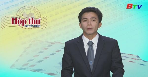 Hộp thư Truyền hình (Chương trình ngày 18/9/2017)