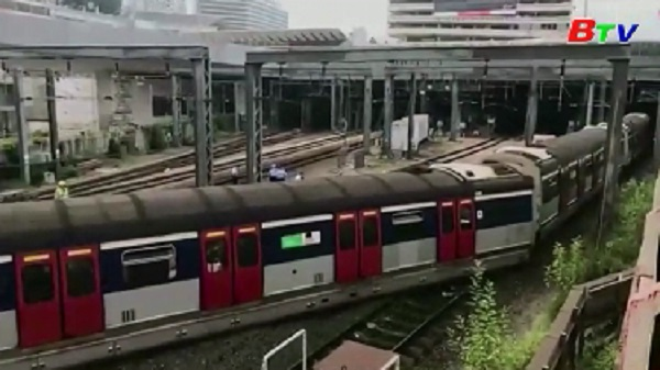 Sự cố tàu điện ngầm nghiêm trọng tại Hong Kong (Trung Quốc)