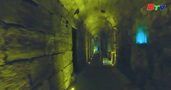 Phát hiện một đài vòng nhỏ có mái che thế kỷ thứ 2 ở Jerusalem