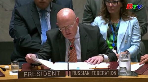 Hội đồng bảo an Liên Hợp Quốc quan ngại về tình hình ở Đông Bắc Syria