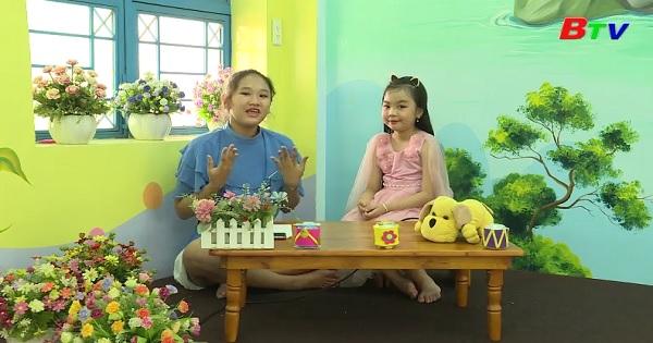 Nhịp cầu thân ái - Giao lưu với bé Thiên Kim