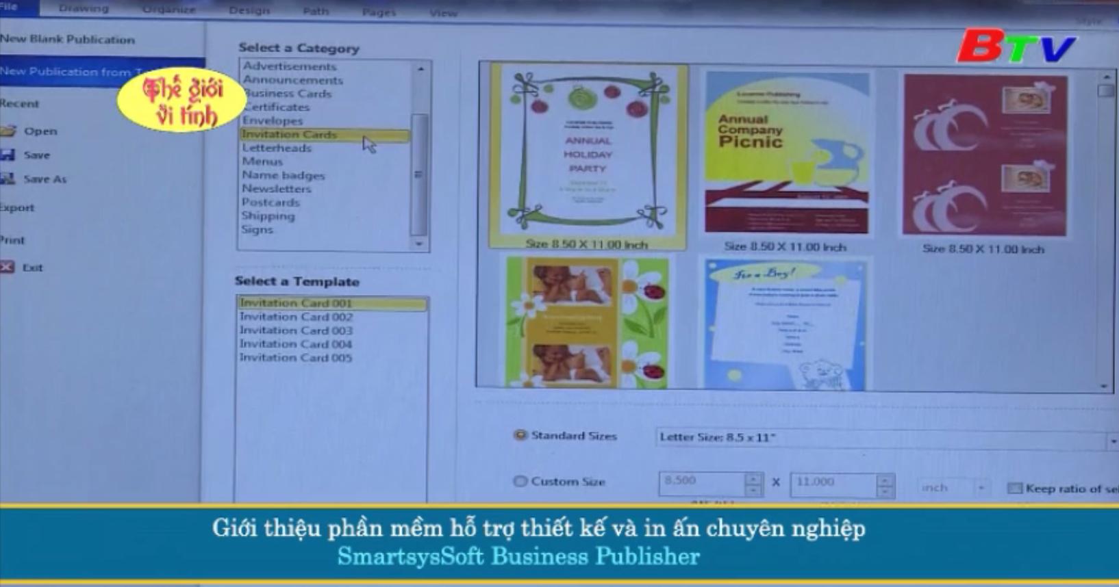 Giới thiệu phần mềm hỗ trợ thiết kế và in ấn chuyên nghiệp SmartsysSoft Business Publisher