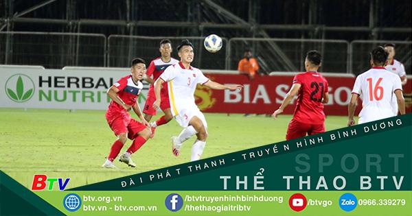 Giao hữu U23 Việt Nam - U23 Kyrgyzstan