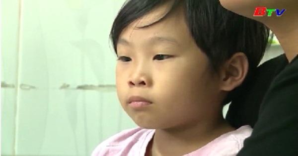 Quỹ hỗ trợ trẻ em Bình Dương giúp trẻ bị ung thư máu 72 triệu đồng