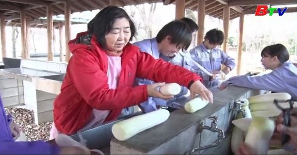 Độc đáo nghệ thuật bảo quản thực phẩm ở vùng đông Bắc, Nhật Bản