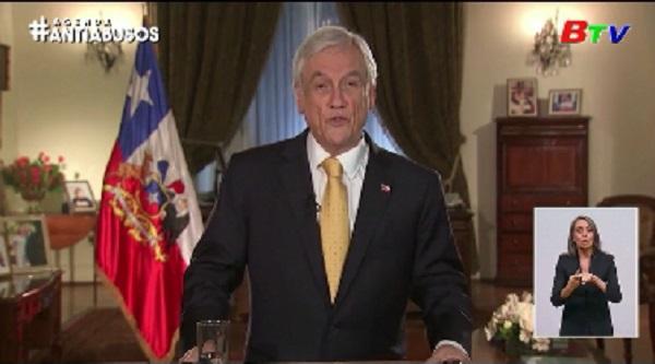 Tổng thống Chile tuyên bố không từ chức