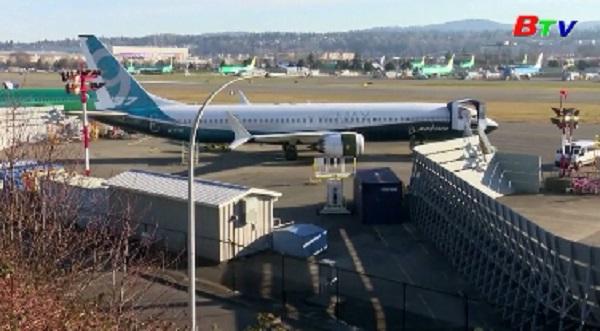 Boeing tạm ngưng sản xuất máy bay 737 Max