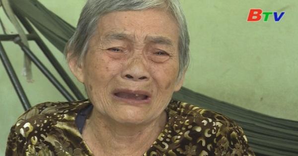 San Sẻ Yêu Thương - Hoàn cảnh bà Huỳnh Thị Thấy ( ở trọ tại KP 1, Thị trấn Dầu Tiếng, huyện Dầu Tiếng, Bình Dương)