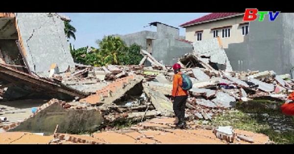 Động đất tiếp tục rung chuyển tỉnh Tây Sulawesi của Indonesia