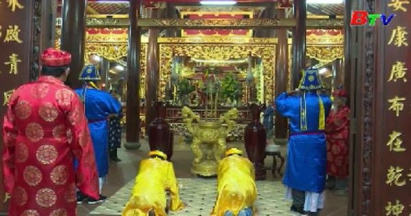 Lễ nghinh ông du xuân chúc lộc đình thần Đông Tác