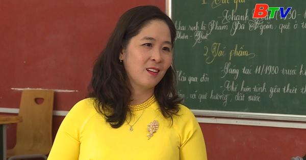 Cô giáo truyền lửa đam mê văn học