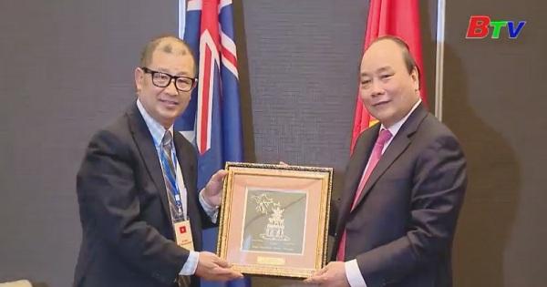 Hoạt động của thủ tướng Nguyễn Xuân Phúc tại Úc