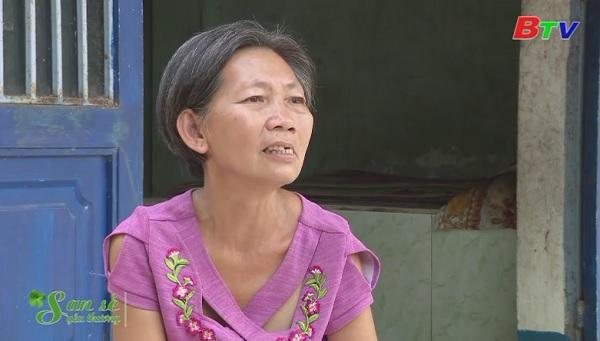 San Sẻ Yêu Thương - Hoàn cảnh chị chị Nguyễn Thị Bé (Số 9/36 đường ĐX 72, khu phố 5, phường Định Hoà, Tp.TDM)