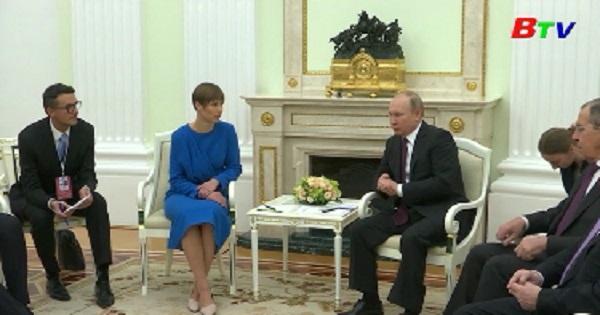 Dấu hiệu cải thiện quan hệ giữa Nga và Estonia