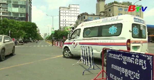 Campuchia ghi nhận nhiều ca mắc mới