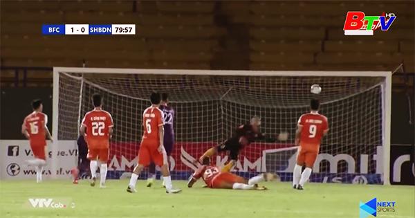 Vòng 10 V-League 2021 – Becamex Bình Dương giành trọn 3 điểm trên sân nhà