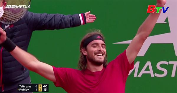 Tsitsipas đăng quang chức vô địch Monte Carlo
