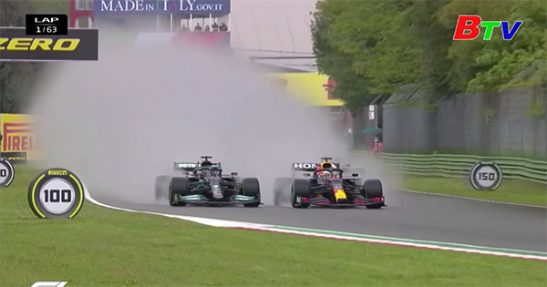 Max Verstappen về nhất tại GP Emilia