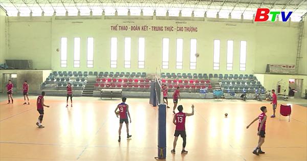 Vật liệu xây dựng Bình Dương xếp thứ 4 tại Vòng 1 Giải Bóng chuyền vô địch Quốc gia 2021