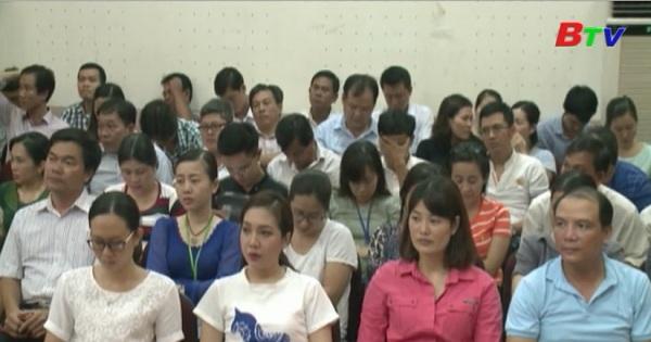 Đảng bộ Đài PTTH Bình Dương tổ chức học tập quán triệt Chỉ thị 05 của Bộ Chính trị chuyên đề năm 2015