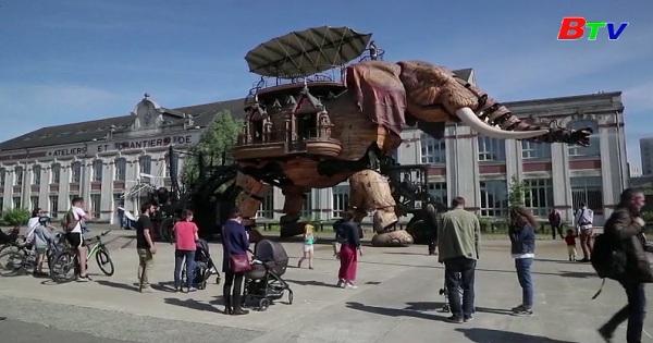 Công viên chủ đề ở thành phố Nantes, Pháp mở cửa trở lại