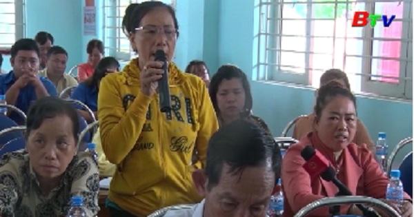 Đại biểu Quốc hội tỉnh Bình Dương tiếp xúc cử tri phường Hòa Lợi, thị xã Bến Cát
