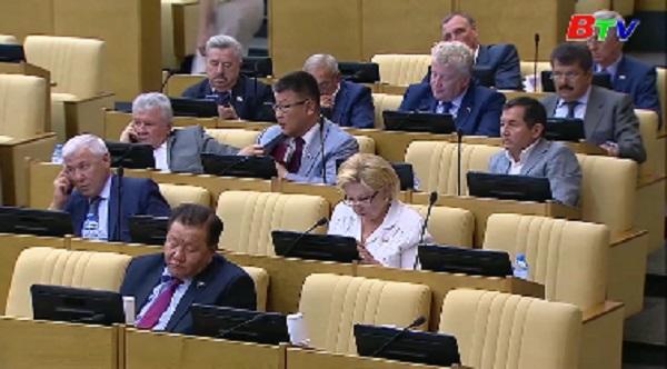 Hạ viện Nga phê chuẩn dự luật đình chỉ hiệp ước INF