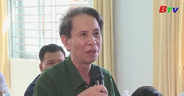 Đại biểu Quốc hội tỉnh Bình Dương tiếp xúc cử tri xã Cây Trường, huyện Bàu Bàng