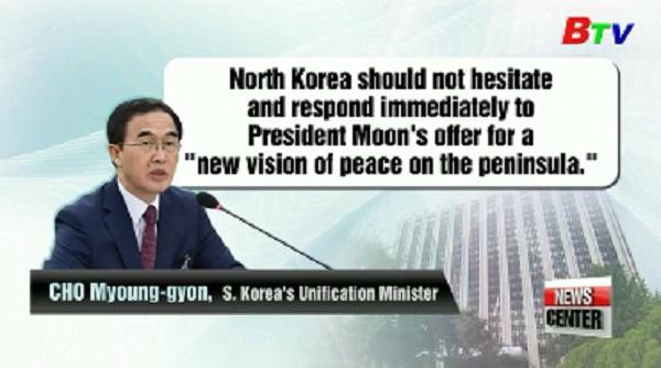 Hàn Quốc đề nghị tổ chức cuộc họp Hội Chữ thập đỏ 2 miền Triều Tiên