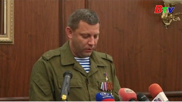Phe ly khai miền Đông Ukraine đề xuất thành lập nhà nước mới