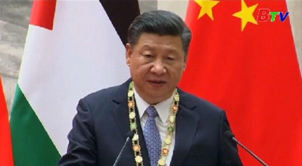Trung Quốc ủng hộ giải pháp 2 nhà nước đối với vấn đề Palestine
