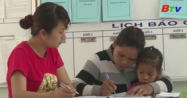 Phú Giáo đảm bảo 100% trẻ vào lớp 1