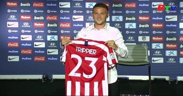 Atletico Madrid vừa giới thiệu tân binh Kieran Trippier