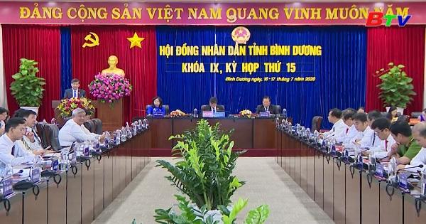 Kỳ họp lần thứ 15 HĐND tỉnh Bình Dương