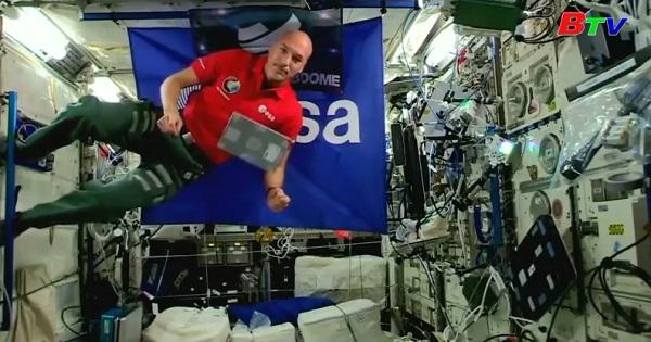 DJ đầu tiên trên trạm không gian quốc tế