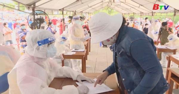 Bình Dương tổ chức tiêm vắc xin diện rộng phòng Covid-19
