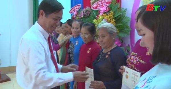 Phú Giáo họp mặt kỷ niệm 87 năm ngày thành lập Hội LHPN Việt Nam