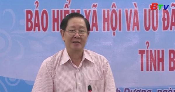 Ban chỉ đạo trung ương về cải cách chính sách tiền lương làm việc tại Bình Dương