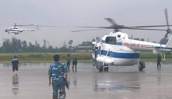 Những chuyến bay cứu hộ, cứu nạn ở thủy điện Rào Trăng 3