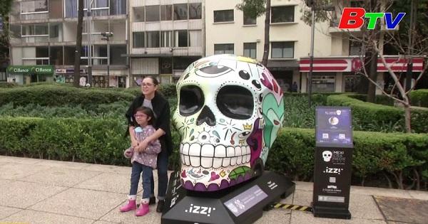 Mexico - Thủ đô Mexico City chuẩn bị cho lễ hội ngày của người chết