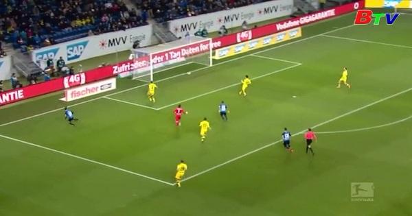 Vòng 15 Bundesliga:Hoffenheim 2-2 Borussia Dortmund