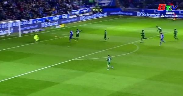 Vòng 16 La Liga: Alavés 1-0 Real Betis