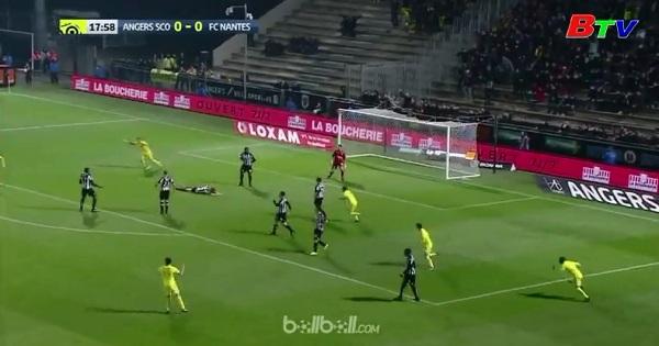 Vòng 18 giải hạng nhất nước Pháp: Angers 0-2 Nantes
